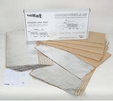 HushMat Chevrolet Nomad 1955-1957   Sound and Thermal Insulation Kit 62655
