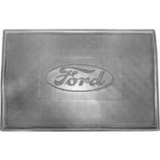 Universal Floor Mat, Rubber, Ford Script, 17-1/4 x 11-3/4