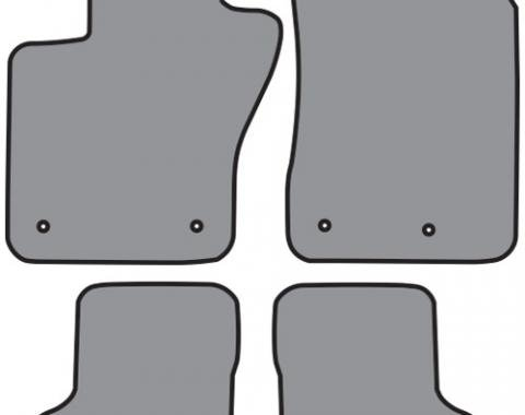 ACC  Jeep Renegade Floor Mat 4pc (P638 P638R) Cutpile, 2015-2018