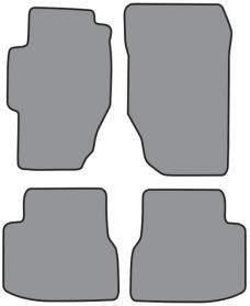 ACC  Honda Accord 4DR Floor Mat 4pc (FM130 FM130R) Cutpile, 1998-2002