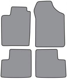 ACC  Nissan Sentra Floor Mat 4pc (A5217 A5217R) Cutpile, 1995-1999