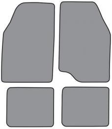 ACC  Mazda MPV Floor Mat 4pc (MPV92F FM18R) Cutpile, 1989-1998