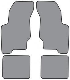 ACC  Pontiac Grand Am Floor Mat 4pc (FM74F FM18R) Cutpile, 1992-1998