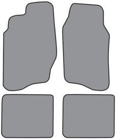 ACC  Chevrolet Cavalier 2DR/4DR Floor Mat 4pc (FM144F FM18R) Cutpile, 1995-2005