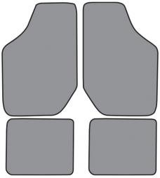 ACC  Oldsmobile Cutlass Ciera Floor Mat 4pc (FM151F FM18R) Cutpile, 1994-1996