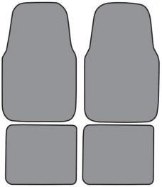ACC  Ford Contour Floor Mat 4pc (FM154F FM18R) Cutpile, 1995-2000