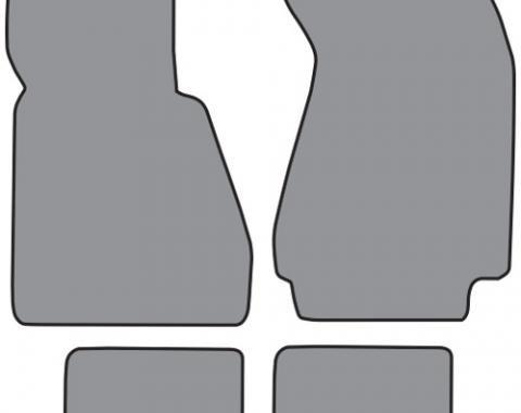 ACC  BMW 733i Floor Mat 4pc (BM510F FM18R) Cutpile, 1978-1984