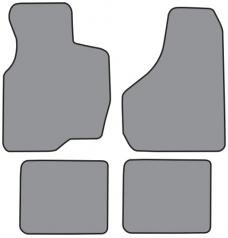 ACC  Ford Excursion Floor Mat 4pc (A5286F FM18R) Cutpile, 2000-2005