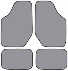ACC  Mercury Sable Floor Mat 4pc (FM67 FM67R) Cutpile, 1996-2005