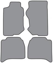 ACC  Isuzu Rodeo Floor Mat 4pc (P548 P548R) Cutpile, 1998-2002