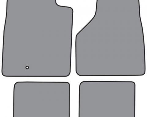ACC  Dodge Ram 3500 Mega Cab Crew Cab Style Floor Mat 4pc (FM297F FM18R) Cutpile, 2006-2009