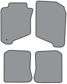 ACC  Toyota Corolla Floor Mat 4pc (FM103 FM103R) Cutpile, 1990-1998
