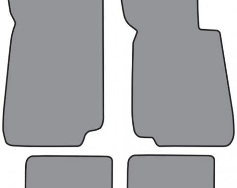 ACC  BMW 318i Floor Mat 4pc (BM533F FM18R) Cutpile, 1991