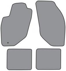ACC  Lincoln Continental Floor Mat 4pc (A5351F FM18R) Cutpile, 1998-2002