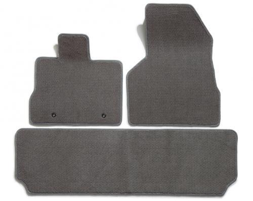Black Nylon Carpet Coverking Custom Fit Front Floor Mats for Select Chevrolet Corsica Models