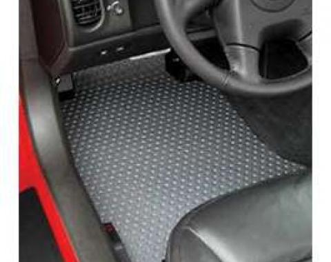 Corvette Floor Mats, 2 Piece Lloyd® Rubbertite™, Late 2005-2007 Early