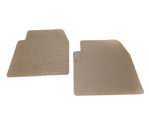 Toyota 4Runner Floor Mats, 2 Piece 2nd Seat Lloyd® Rubbertite™, Tan, 1996-2004