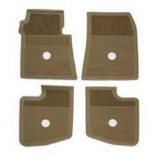 Full Size Chevy Floor Mats, Tan Accessory, 1961-1964