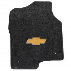 Lloyd Mats Silverado Extd Cab 1999-2007 2 Piece Front Ebony Ultimat Gold Bowtie Logo 600047