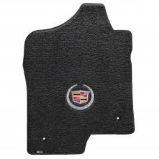 Lloyd Mats 2007-2014 Cadillac Escalade Cadillac Escalade 2007-2014 2 Piece Front Ebony Ultimat Cadillac Logo 600037