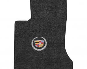 Lloyd Mats 2006-2009 Cadillac SRX Srx AWD V6 2006-2009 2 Piece Mats Ebony Ultimat Cadillac Logo 600084