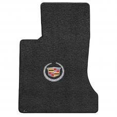 Lloyd Mats 2006-2009 Cadillac SRX Srx 2WD 2006-2009 2 Piece Mats Ebony Ultimat Cadillac Logo 600082
