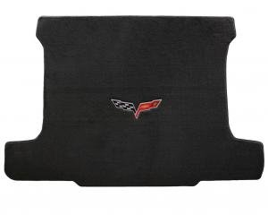 Lloyd Mats 2005-2013 Chevrolet Corvette Corvette 2005-2013 Coupe Cargo Mat Ebony Velourtex C6 Logo 620013