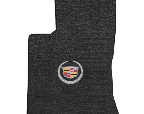 Lloyd Mats 2006-2009 Cadillac SRX Srx AWD V8 2006-2009 2 Piece Mats Ebony Ultimat Cadillac Logo 600086