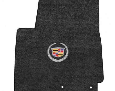 Lloyd Mats 2012-2014 Cadillac SRX Srx 2012-2014 2 Piece Mats Ebony Ultimat Cadillac Logo 600090