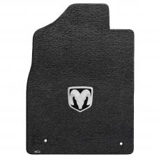 Lloyd Mats 2012-2019 Ram 1500 Ram 1500 Quad Cab Pickup 2012.5-on 2 Piece Front Dark Slate Ultimat Silver Ram Logo 600059