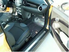 Mini Cooper Coupe S Floor Mats Diamond Plate 4Pc Polished 2007-2008