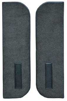 ACC  Chevrolet K5 Blazer Door Panel Inserts on Cardboard w/Vents 2pc Cutpile Carpet, 1978-1980