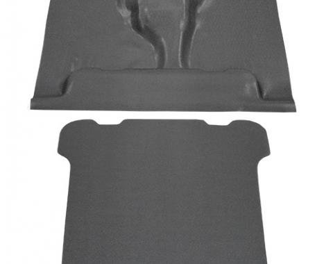 ACC  Jeep Wagoneer Pass Area and Back Panel only Vinyl Carpet, 1963-1983