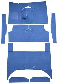ACC  Ford Falcon 4DR Wagon 4spd Bench Seat 6 Cylinder Loop Carpet, 1960-1965