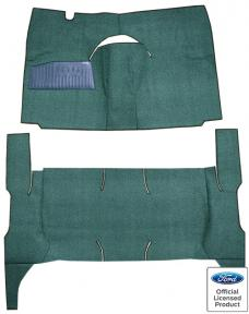 ACC  Edsel Pacer 4DR Sedan Standard Seats Loop Carpet, 1958