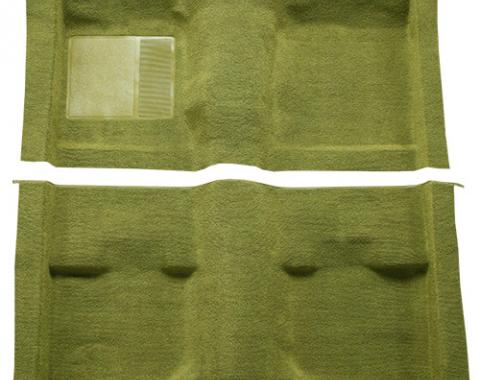 ACC  Ford Mustang Fastback without Folddowns Pass Area Nylon Carpet, 1971-1973