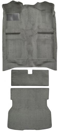 ACC  Ford Mustang Hatchback Fits Rear Bench Seat Complete Cutpile Carpet, 1983