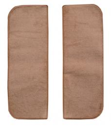 ACC  GMC 1000 Series Door Panel Inserts without Cardboard 2pc Loop Carpet, 1960-1965