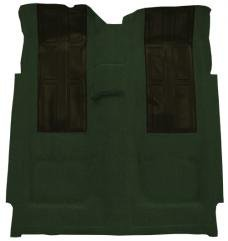 ACC  Ford Torino GT with 2 Dark Green Inserts 2DR 4spd Loop Carpet, 1972-1973
